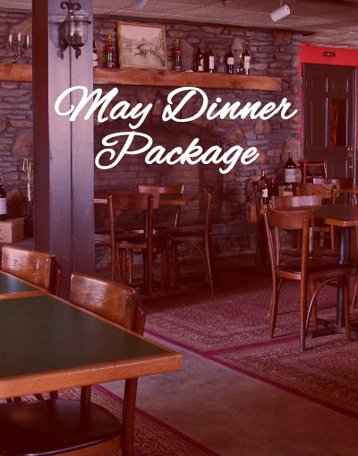 May Dinner Package